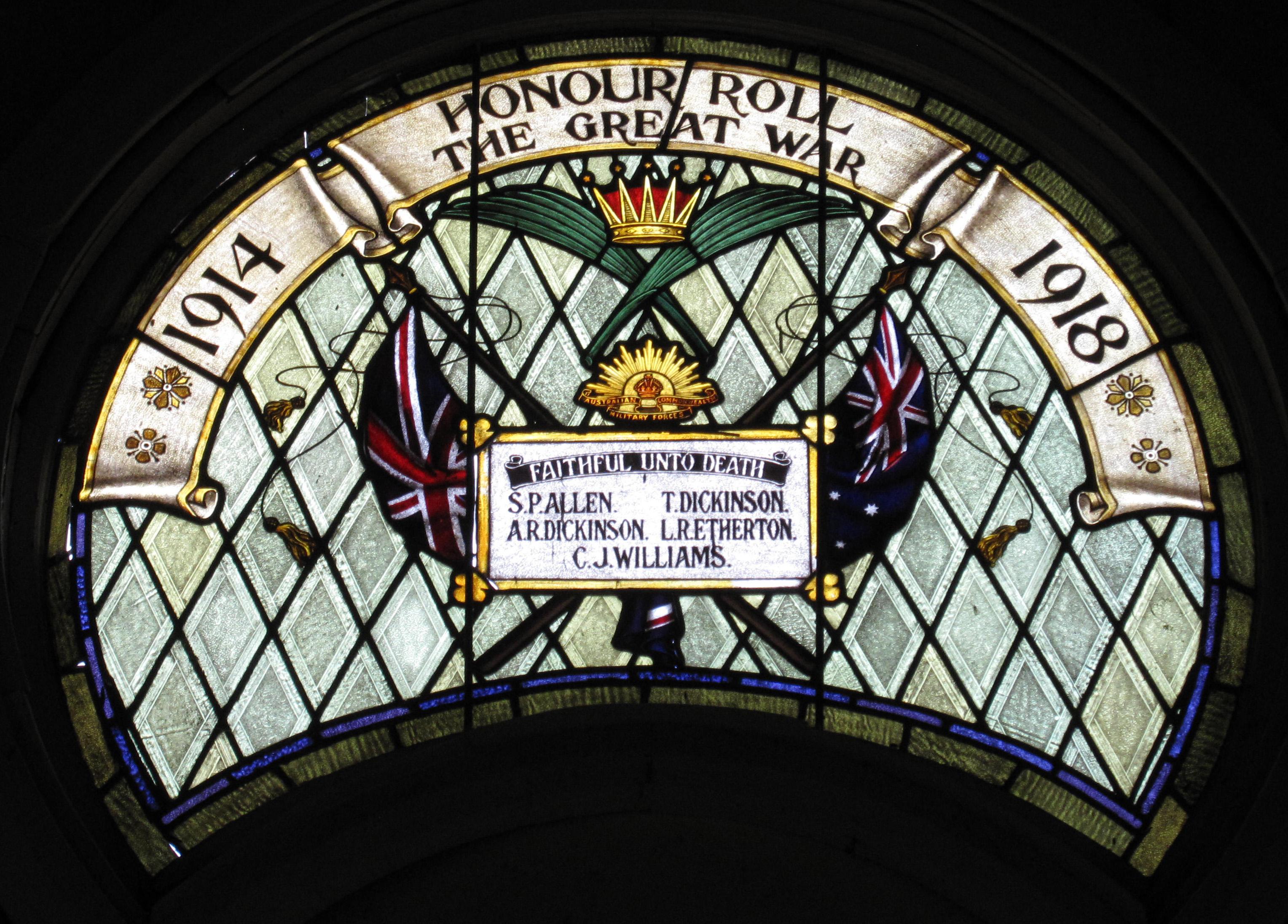 Broughton former Methodist Church War memorial 3