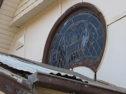 Broughton former Methodist Church War Memorial exterior 1