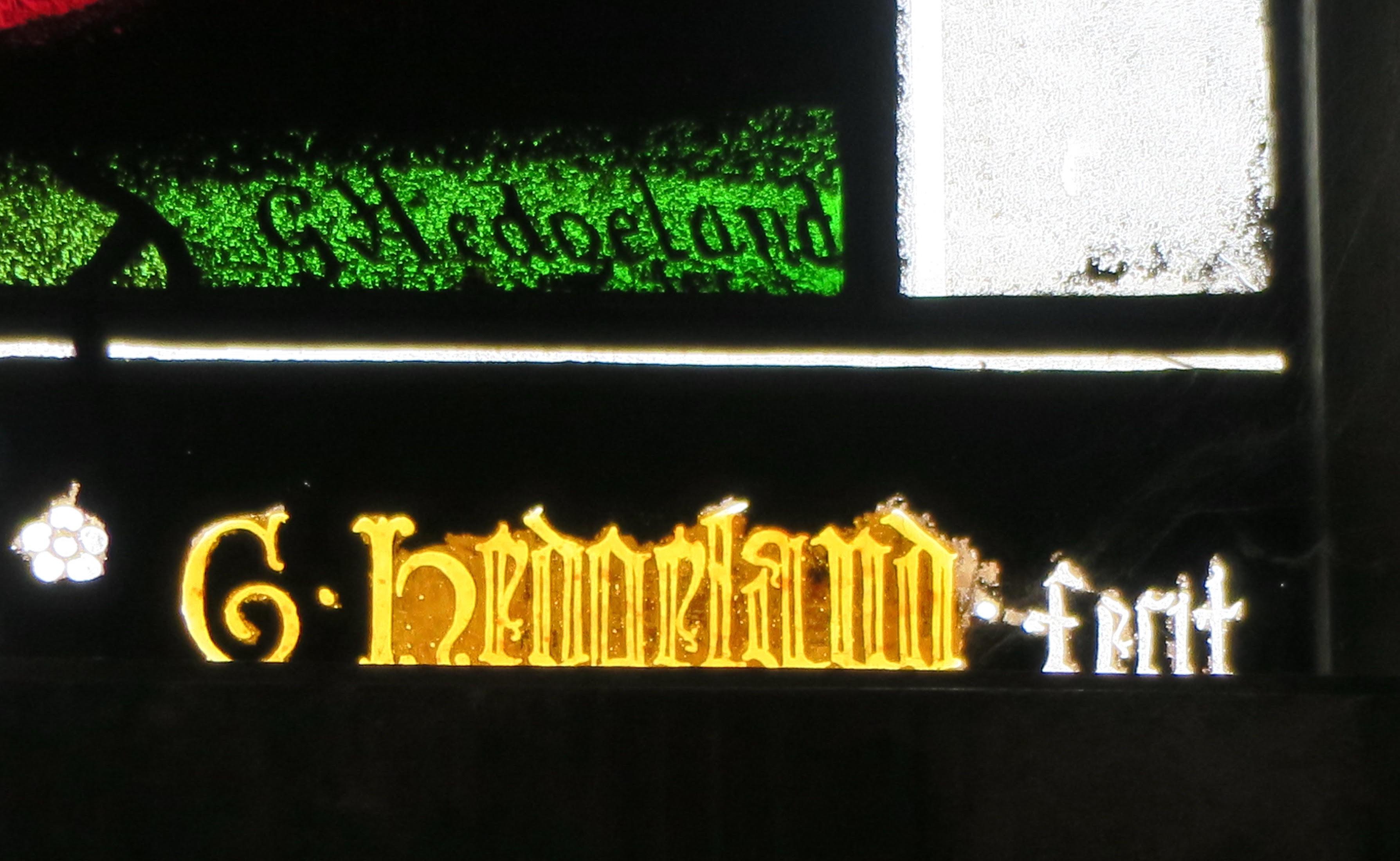 Norwich 6 Hedgeland signature